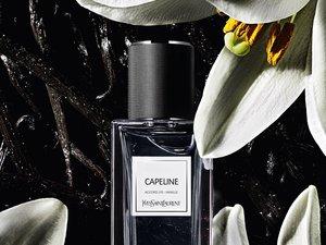 """Le parfum """"Capeline"""" de la collection """"Le Vestiaire des Parfums"""" d'Yves Saint Laurent Beauté."""