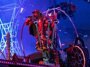 """Le rappeur américain Travis Scott a réuni jeudi soir plus de 12,3 millions de joueurs de Fortnite avec un """"concert"""" d'une dizaine de minutes"""