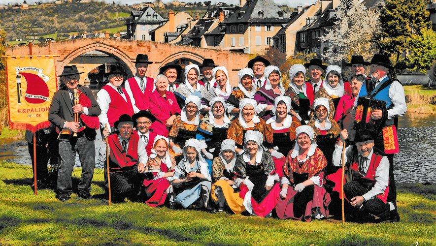 Une solide équipe participe au maintien des traditions du terroir.