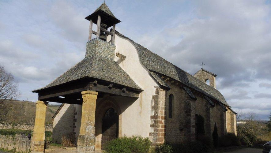 La chapelle romane des Pénitents de Saint-Côme-d'Olt