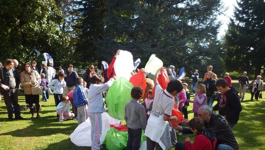 Lors d'une festa Rurale à Coazze (avant l'apparition du virus).