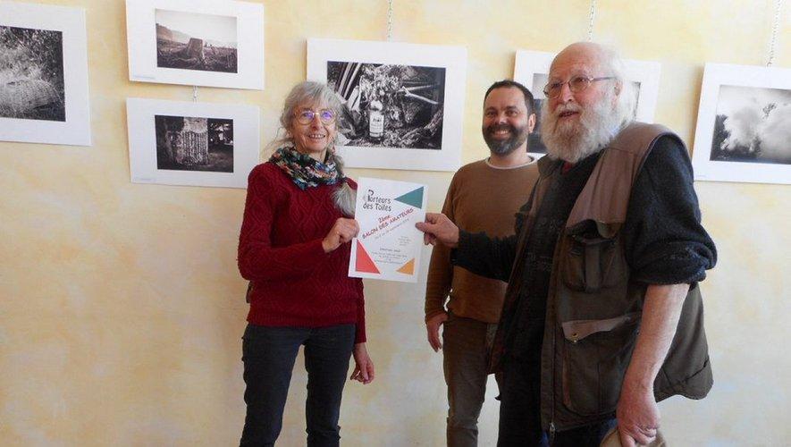 Colette Marin, Arnaud Segond (responsable du cinéma) et André Stengèle attendent vos productions.