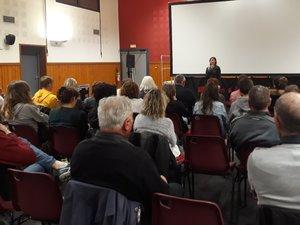Chaque séance proposée par l'association attirait beaucoup de monde.