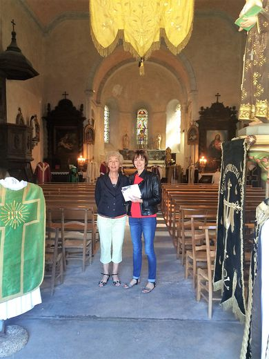 Ouverture de l'église à la visite lors des journées du patrimoine.