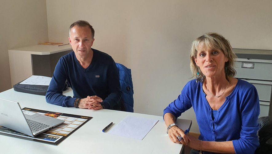 Christian Béra et Sylvie Falguières.