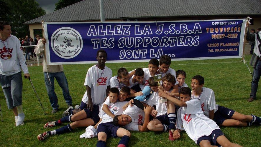An 7 : Les 15 ans de Philippe Murat et J.Yves Cauvin ont gagné la coupe de l'Aveyron et accèdent en ligue.