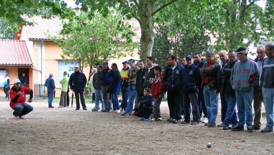 Une compétition à Cransac, début des années 2000.