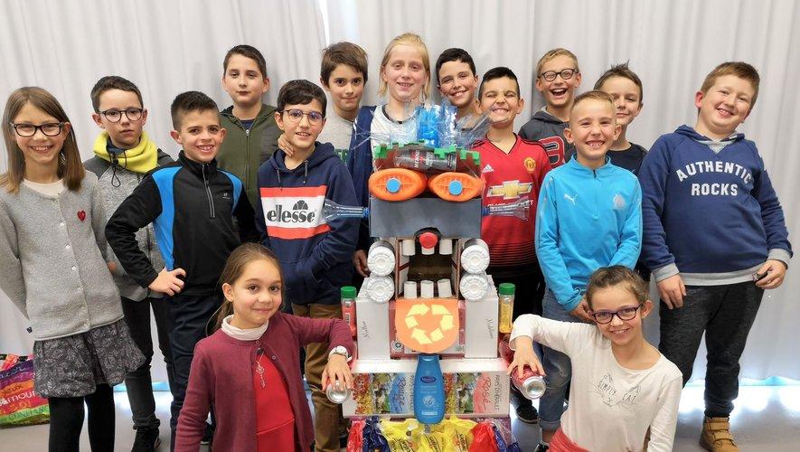 Grandgousier a remporté le 2ème prix, soit 600 €. De quoi contribuer au financement des nombreux projets de l'école.