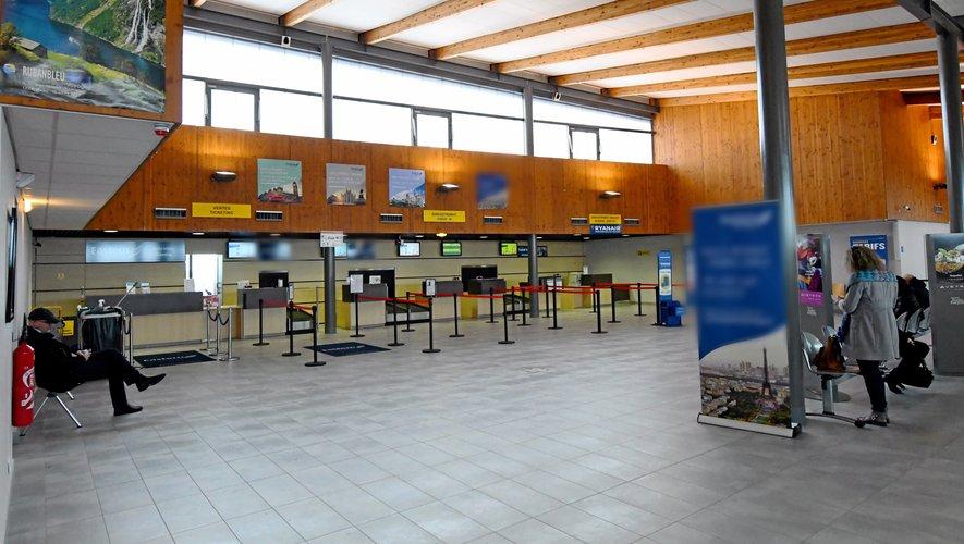 L'aérogare va accueillir à nouveau du public dès le 11 mai. Mais aucun vol n'est encore proposé.