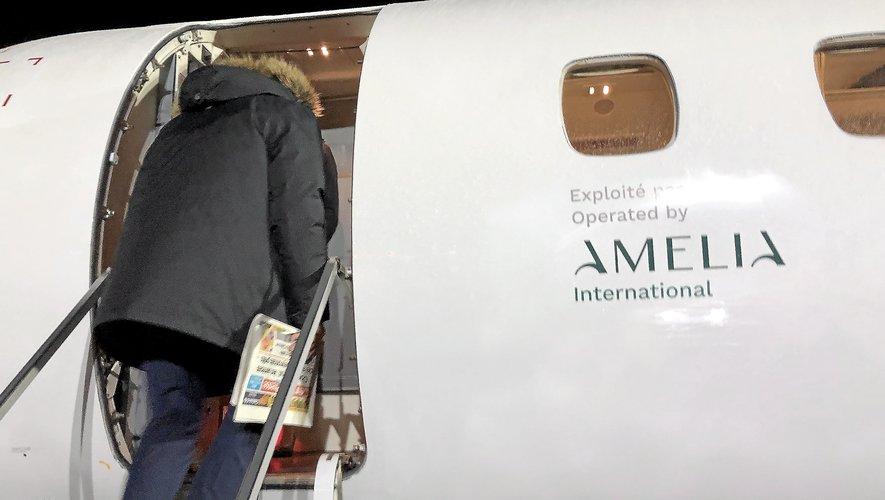 Rodez-Paris : la compagnie Amelia reste soumis à la réouverture d'Orly et à la demande de la clientèle.