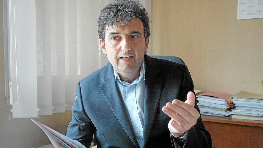 Claude Bauquis,  directeur de l'enseignement diocésain Aveyron-Lot.