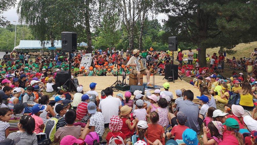 La 15e édition avait réuni près de 3 000 enfants sur 2 jours à la Vallée verte à La Primaube.