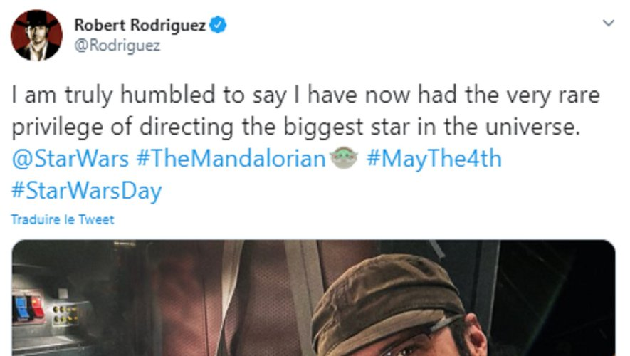 "Robert Rodriguez a réalisé ""Alita: Battle Angel"" en 2019."