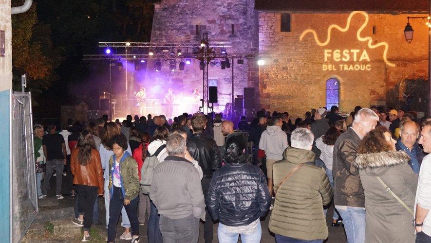 Lors de la  dernière édition de la «Festa Del Traouc» .