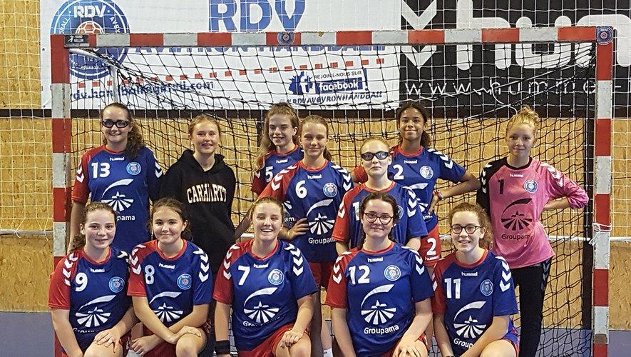 Les 15 ans filles joueront au plus haut niveau régional la saison prochaine