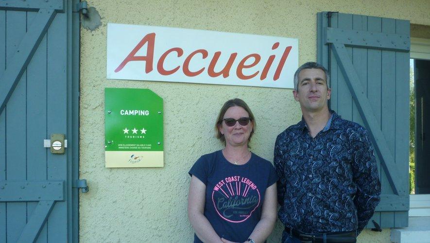 Tatiana et Frédéric fin prêts pour accueillir les touristes