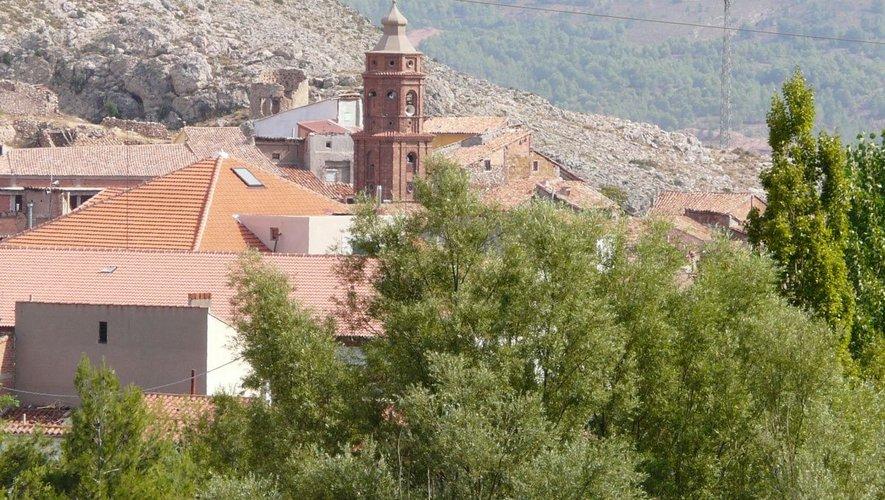 Utrillas se situe au sud  de l'Aragonais.