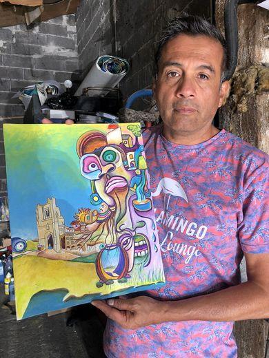La liberté de création du peintre Ignacio Gonzalez
