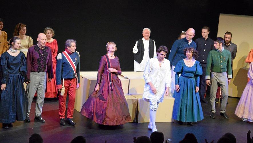 La pièce a connu un joli succès l'été dernier à Rodez.