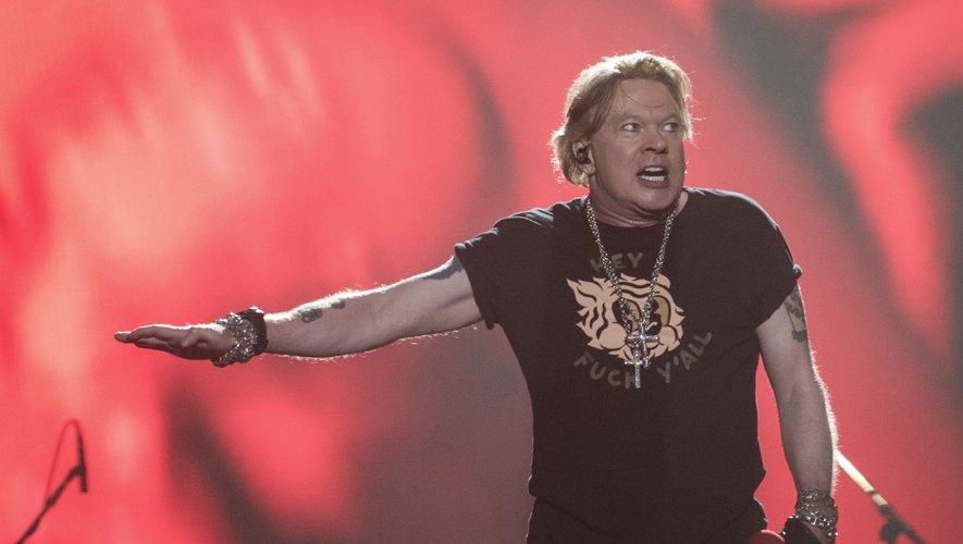 Axl Rose, le chanteur de Guns N' Roses lors du festival Vive Latino 2020 à Foro Sol de Mexico City, le 14 mars 2020