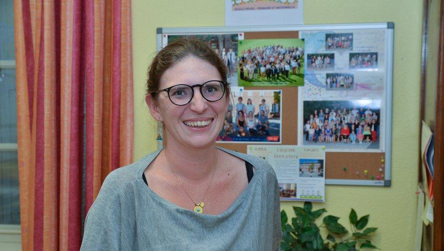 Stéphanie Serre, directrice de l'étalissement.