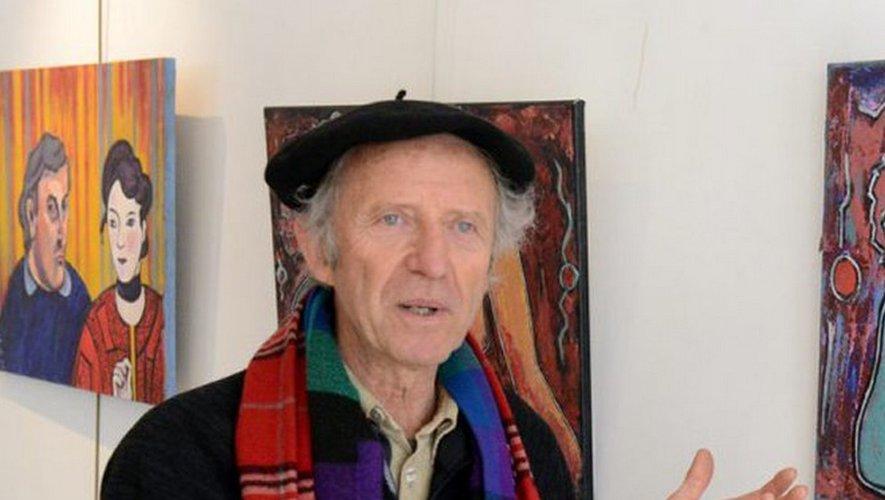 Claude Lajeunie est passionné par les arts.