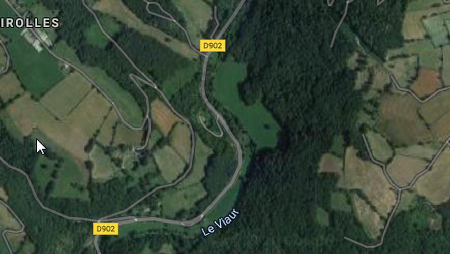 L'accident s'est produit entre Bonnecombe et le Pont de Grand-Fuel.
