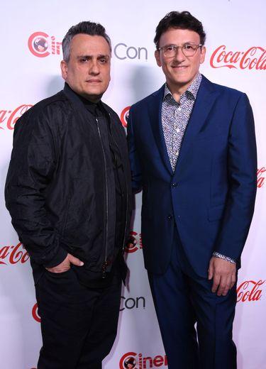 """Anthony Russo (à droite) et Joe Russo sont les réalisateurs de """"Avengers: Endgame"""" sorti en 2019 et """"Avengers: Infinity War"""" en 2018."""