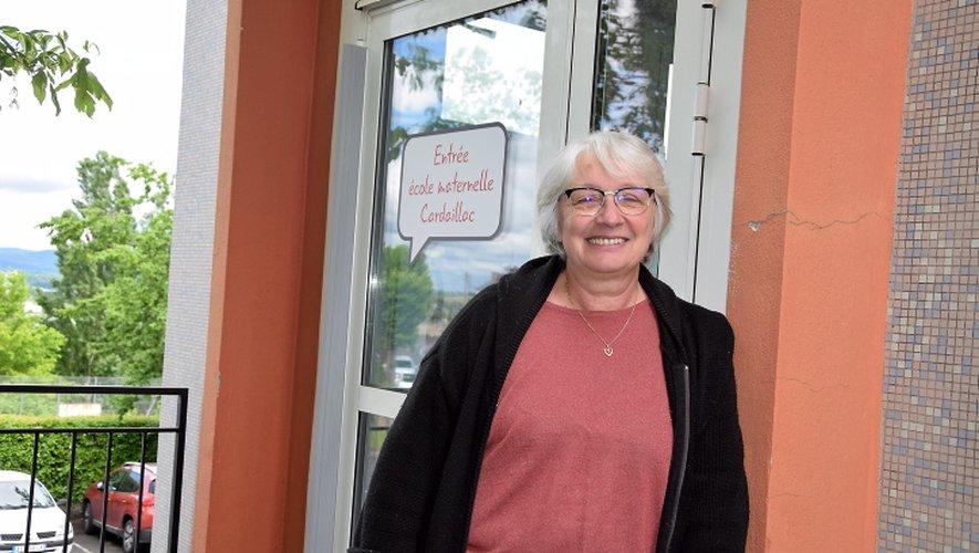 Annick Longer, directrice du groupe scolaire de Cardaillac, attendait lundi 11 mai les gels hydroalcooliques et thermomètres sans contact.