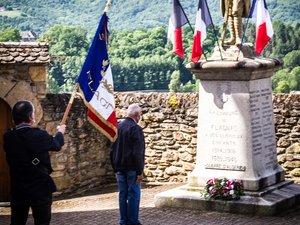 Un hommage aux soldats tombés pendant les guerres
