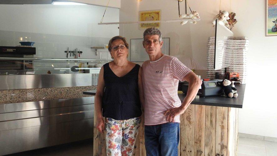 La Pizza du Causse a ouvert place de la Fontaine à Lioujas