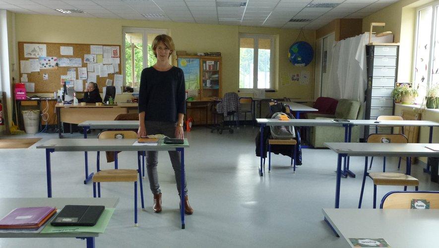 Lætitia Durand a rouvert ses deux écoles hier.