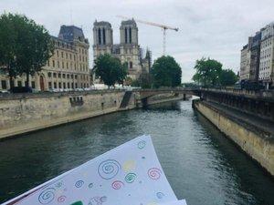 Les dessins sont arrivés à Paris