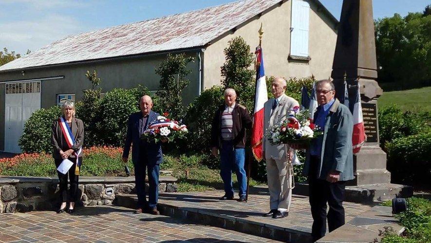 La commémoration du 8 Mai en comité restreint à Rouens.