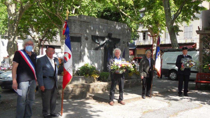Cérémonie du 8-Mai sur la place de la République.