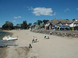 Les plages (ici les Vergnes à Salles-Curan) bientôt libérées.