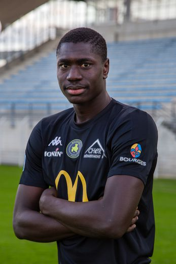 Cette saison, Daouda Gueye a inscrit 10 buts en 21 rencontres de N2 avec Bourges.