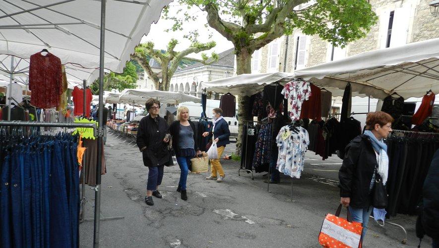 Place Notre-Dame, le cœur et le symbole du marché de Villefranche./Photo DDM