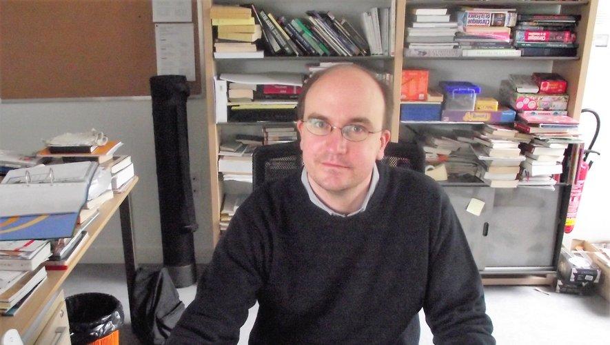 Sylvain Rovera, nouveau bibliothécaire de la Gageothèque.