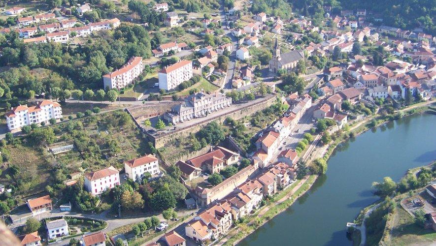 Une vue aérienne du quartier du Gua.