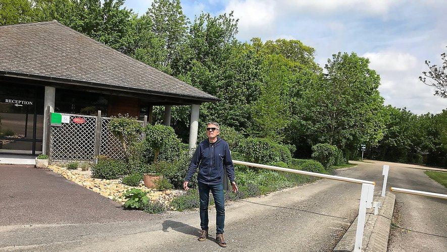 Yves Cantaloube à la Grange de Monteillac espère rouvrir ses barrières au plus vite.