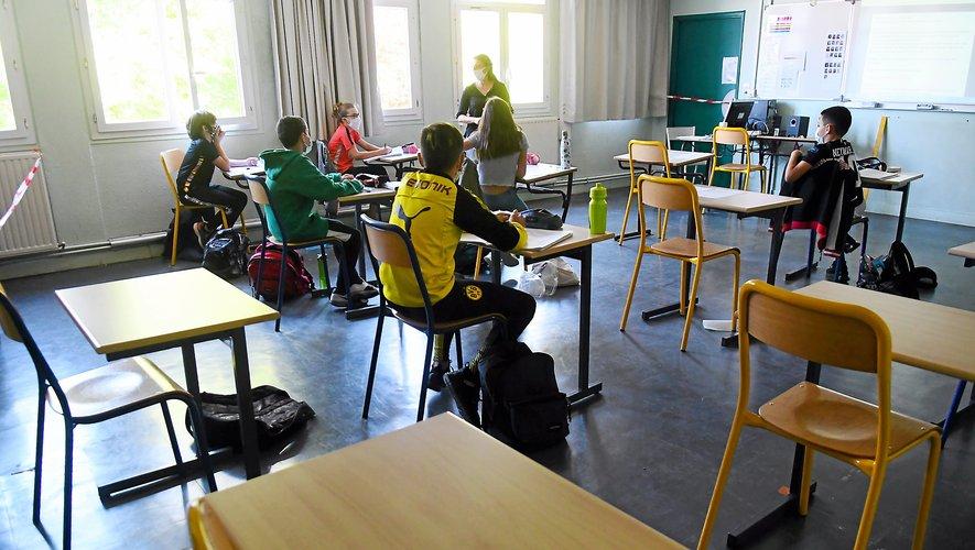 Au collège Jean-Moulin de Rodez, les groupes sont constitués de 6 à 14 élèves.