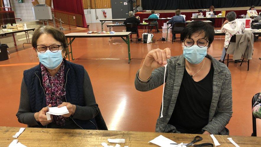 Des masques pour les personnes les plus fragiles