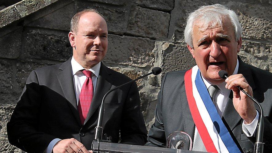 Alain Cézac avait débuté sa mandature par la venue d'Albert II, prince de Monaco, il la termine avec la crise sanitaire.