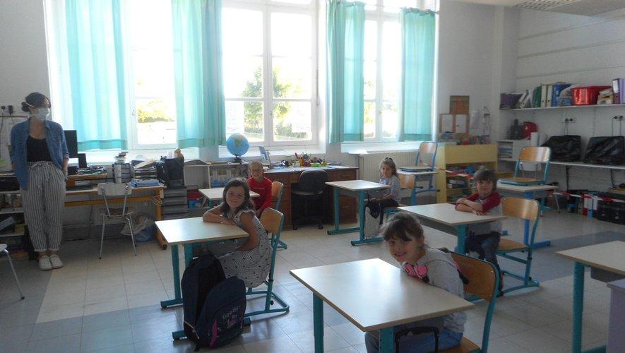 La grande section  de maternelle.