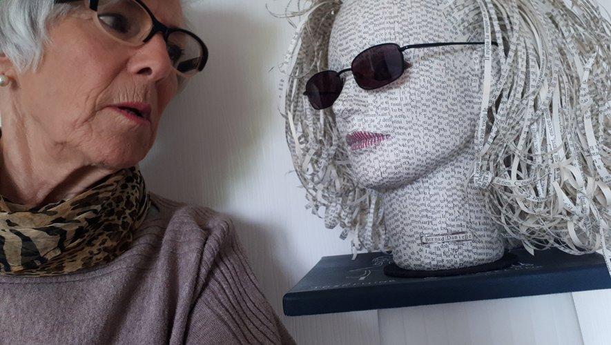 Danielle Bernad et son œuvre.