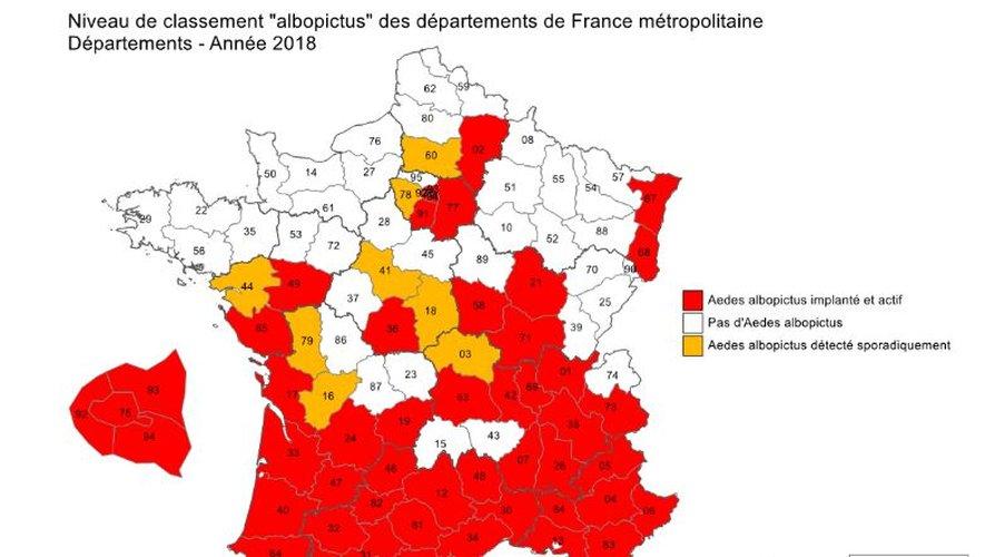 Toute l'Occitanie est concernée par la présence du moustique tigre, arrivé d'Asie au début des années 2000