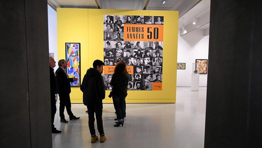 L'exposition temporaire Femmes années 50 est prolongée jusqu'au 31 octobre.