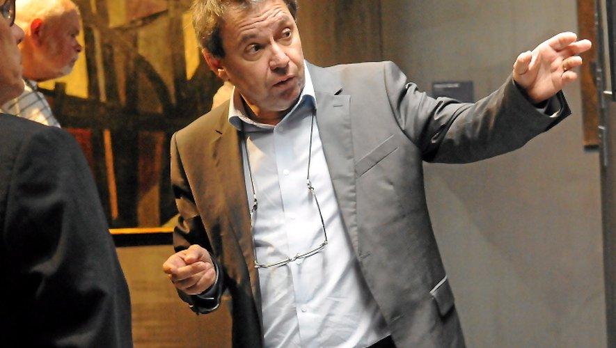 Benoît Decron « très heureux » de rouvrir son musée.