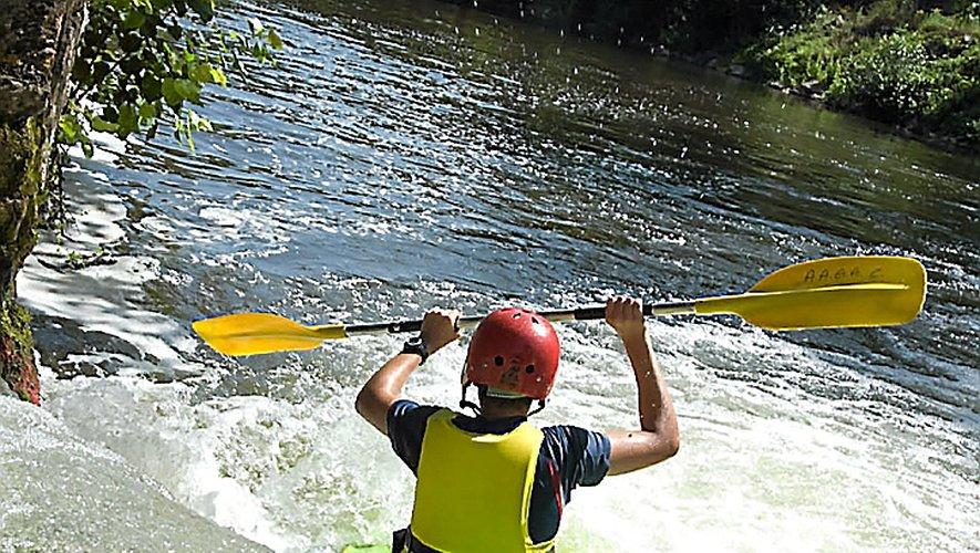Sur la rivière Aveyron